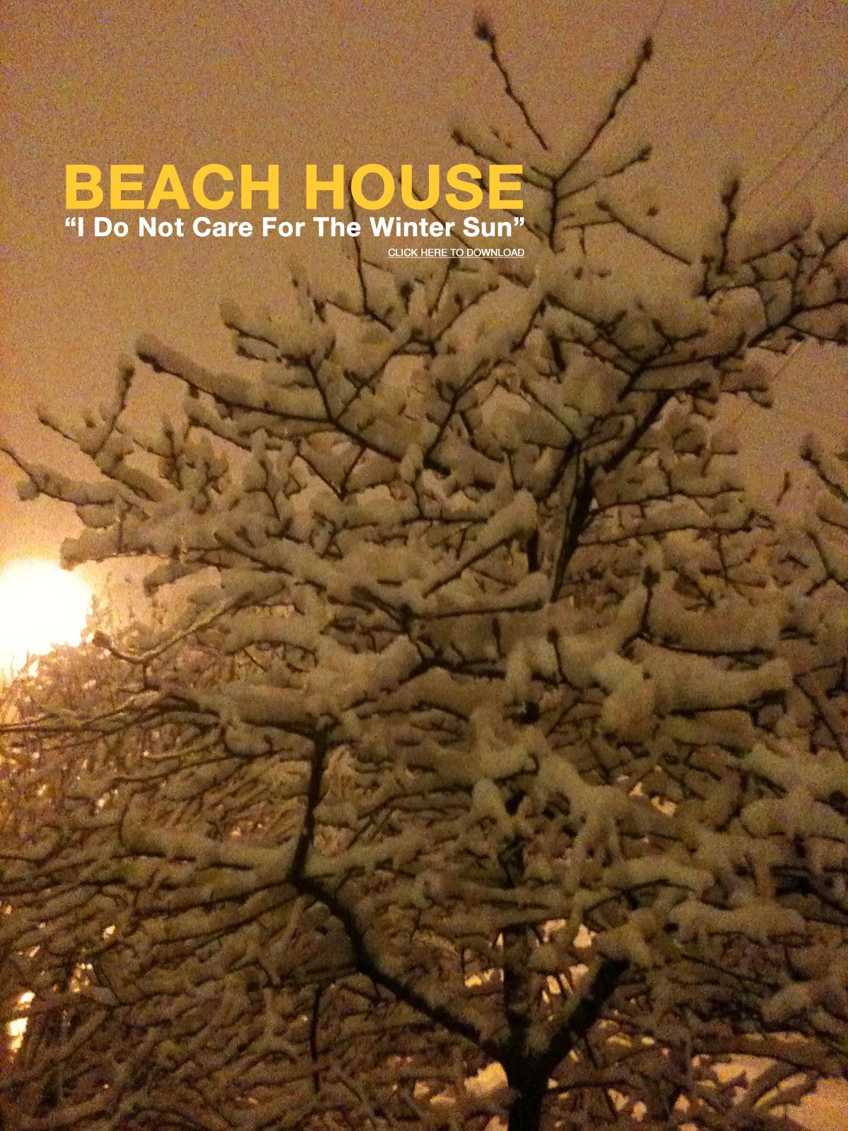 Beach House se adelanta a la navidad y nos regala en descarga gratuita un tema inedito